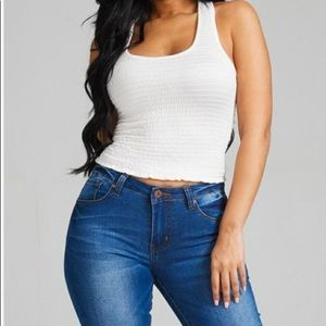 Tops - Cropped tank top